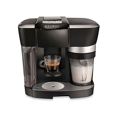 bed bath coffee maker keurig 174 rivo 174 r500 brewer in black bed bath beyond