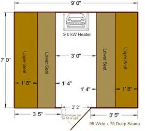 sauna floor plans find house plans