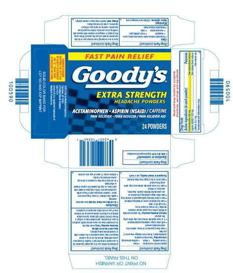 goody com goodys extra strength medtech products inc
