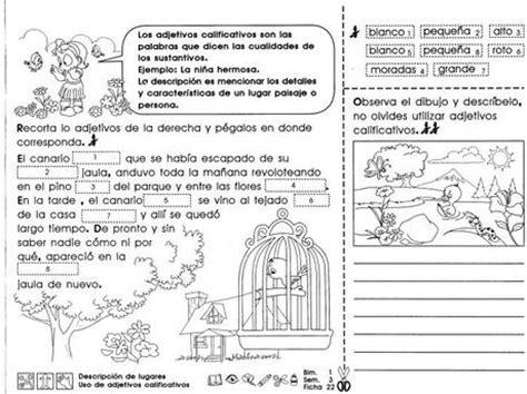 imagenes retoricas pdf descripci 243 n de lugares uso de adjetivos calificativos 4to