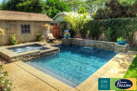 geometric pool redding geometric pools cool sleek lines premier pools spas