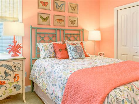 peach paint color for bedroom empty nester cape cod cottage design home bunch interior