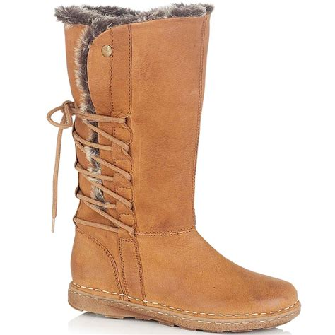 womens fur lined boots lotus jade womens leather fur lined boots lotus from