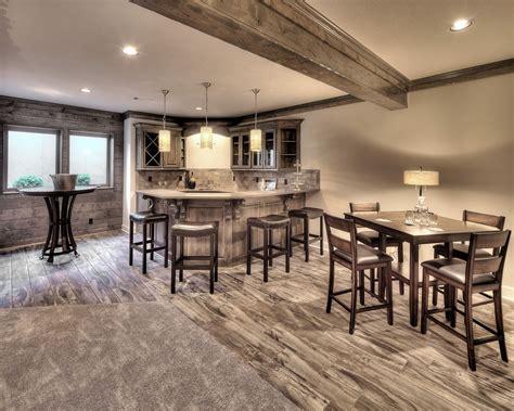 houses with finished basements basement finish basement bar wood look tile shiplap
