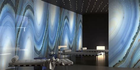 Agata azzurra Precious stones, light blue marble effect