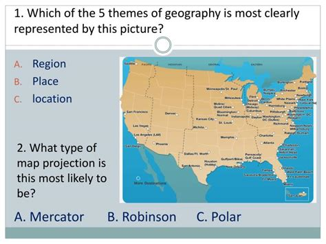 5 themes quiz ppt five themes of geography review check up quiz