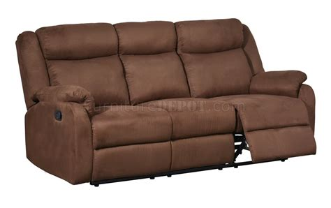 motion upholstery u8303 motion sofa in chocolate fabric by global w options