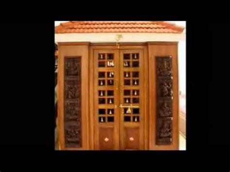 pooja room door frame and door design