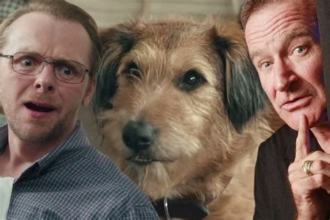 simon pegg voice absolutely anything watch robin williams in final movie