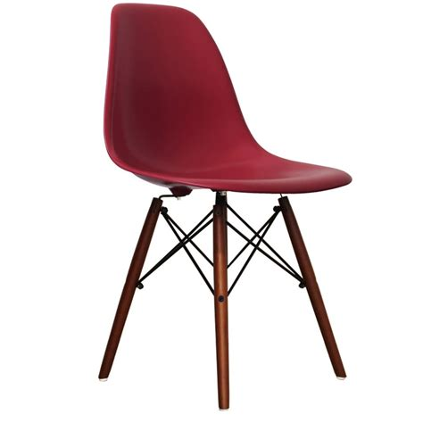 Coloured Eames Chairs by Coloured Dsw Eames Style Wood Base Chair 20 Colours By