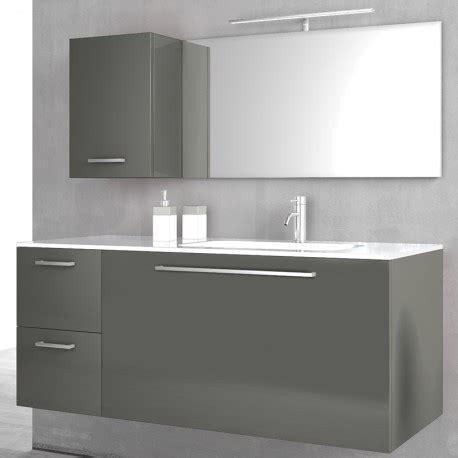 mobile bagno 100 cm mobile bagno sospeso grigio 100cm samoa specchio 100cm e
