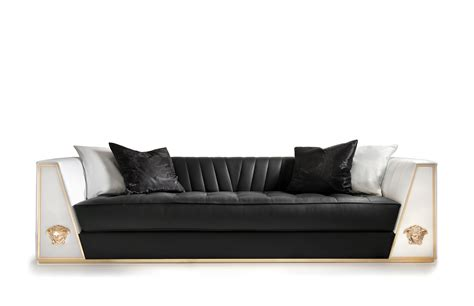 divani versace versace home via ges 249 sofa limited edition polkadot