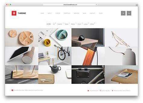 wordpress themes industrial design 50 best personal portfolio wordpress themes 2018 colorlib