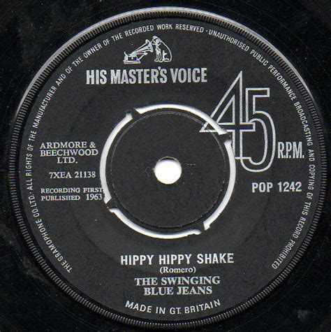 the swinging blue jeans hippy hippy shake the swinging blue jeans hippy hippy shake vinyl at discogs