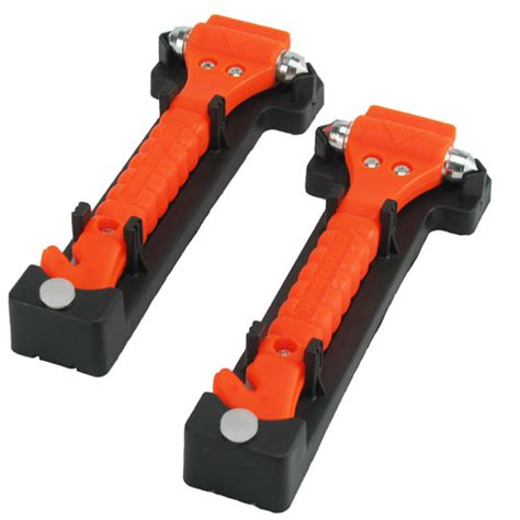 commutemate universal emergency hammer window punch and