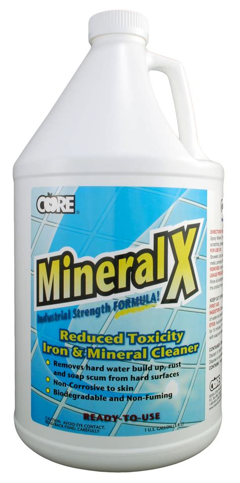 mineral cleaning hydroxi pro mineral x iron and mineral cleaner non