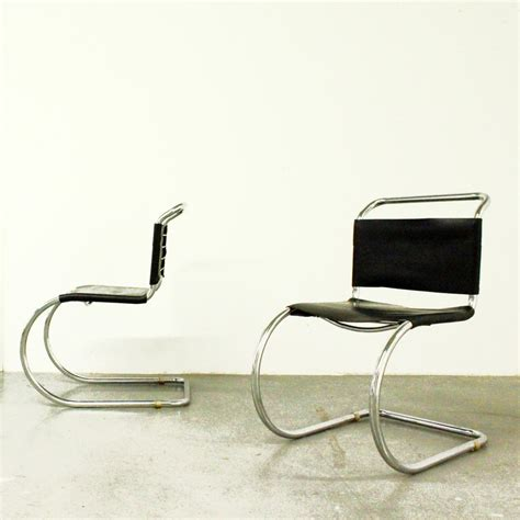 mies van der rohe mr 10 cantilever chairs mies van der rohe