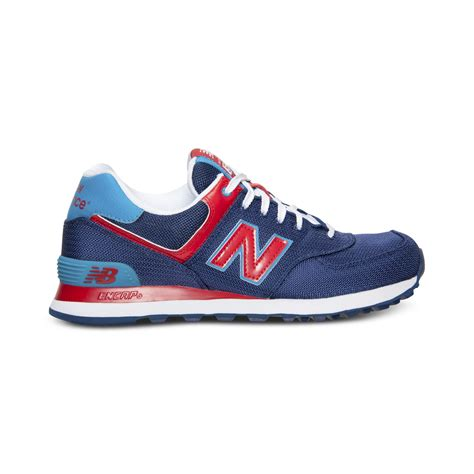 new balance mens sneakers new balance mens 574 passport casual sneakers from finish