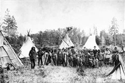 From Colonization To National State The Political Demography Of Indon 1 kootenai tipis jpg