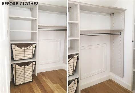 dealing with shallow wardrobes shallow closet solutions scrapbook 12 storage ideas
