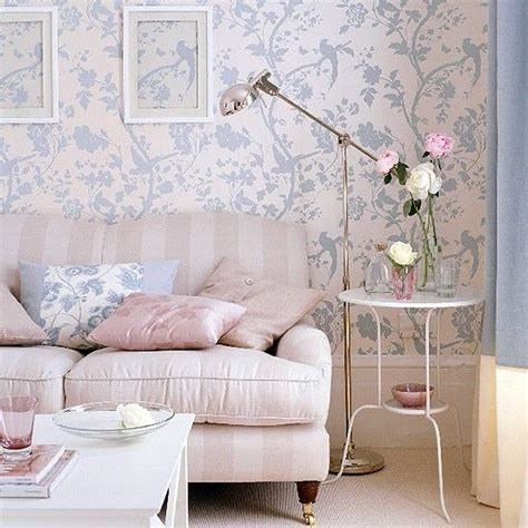 Floral Blue Living Room Blue Decorating Ideas by Best 25 Living Room Wallpaper Ideas On Modern