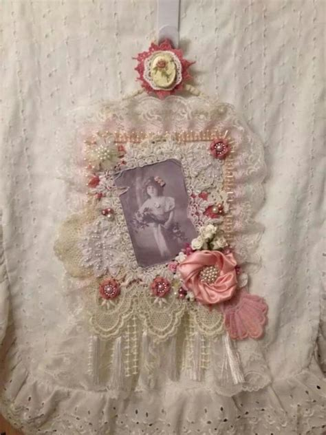 166 best fabric lace wall hanging s images on pinterest