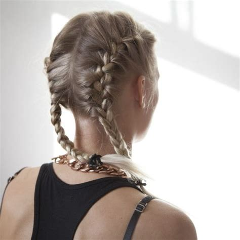braided hairstyles on top of head how to do two french braids on the side of your head on