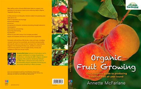 Books Written By Annette Mcfarlane And Others Organic Vegetable Gardening Mcfarlane