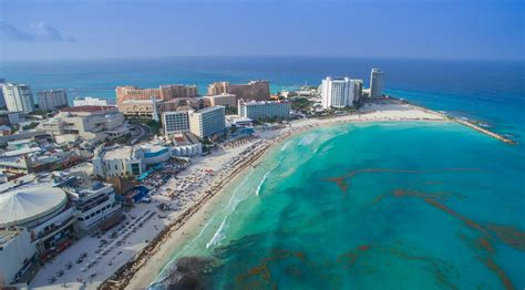 cancun hotel zone aerial flickr photo sharing