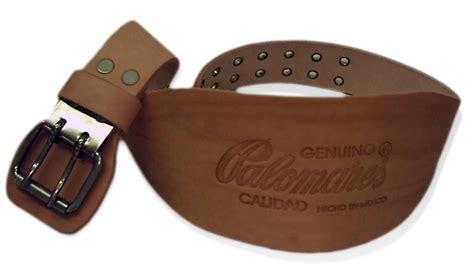 fajas de cuero faja cinturon de vaqueta cuero piel marca palomares