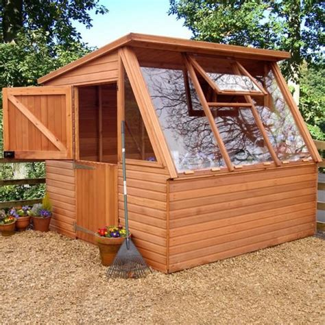 Greenhouse Shed Plans look plans for a garden shed greenhouse combo goehs