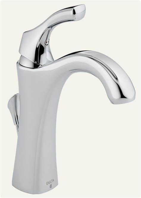 delta  dst addison single handle centerset lavatory faucet chrome touch  bathroom sink