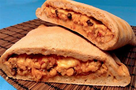 calzone tex mex receta casera - Cocina Tex Mex Recetas
