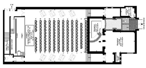 movie theatre floor plan bkr floorplans services cinemas