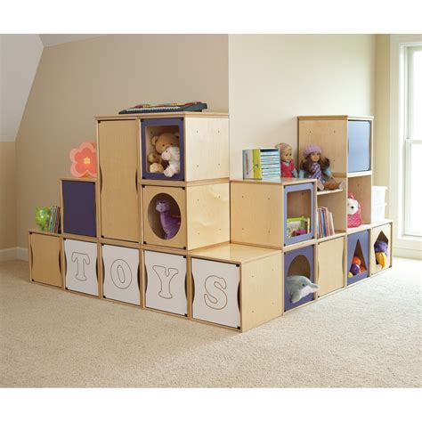 playroom storage containers contemporary playroom with roomeez 15 cube wall unit toy