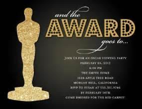 academy awards invitation template oscar invitations plumegiant