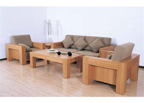 Wooden Sofa Set by Plushemisphere Wooden Sofa Sets