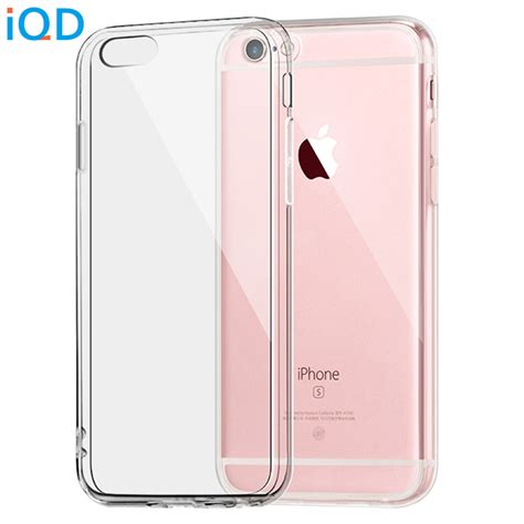 Big Silicontpu Iphone 6 Tpu09 iqd for apple iphone 6 6s plus clear tpu cover slim silicone protective sleeve
