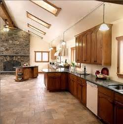 Kitchen Tile Floor Ideas by Terra Cotta Tile Kitchen Decobizz Com