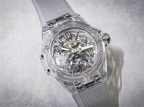 transparent from hublot big tourbillon power