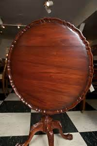 carved mahogany tilt top pie crust table at 1stdibs