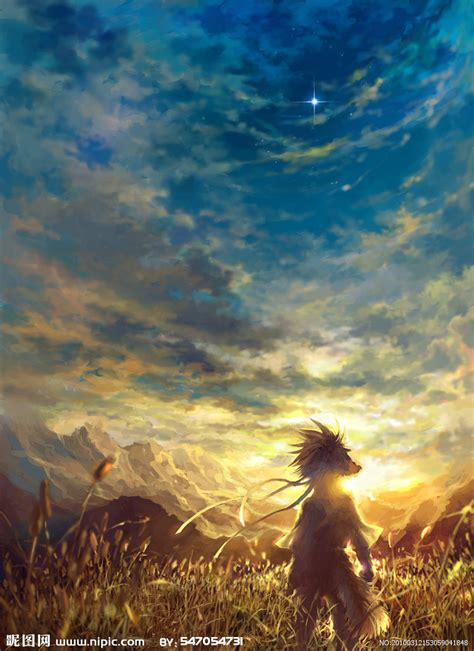 wwjd images 天空设计图 动漫人物 动漫动画 设计图库 昵图网nipic