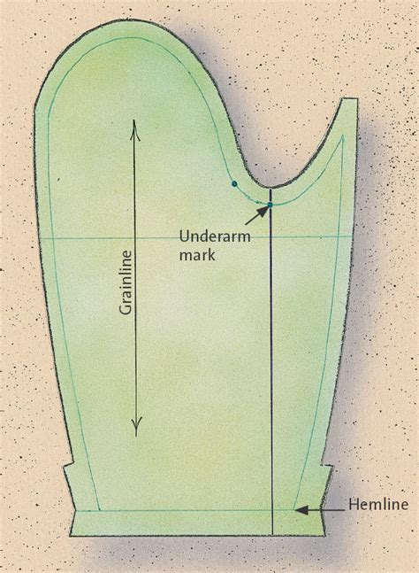 pattern usage en francais how to draft a two piece jacket sleeve from a one piece