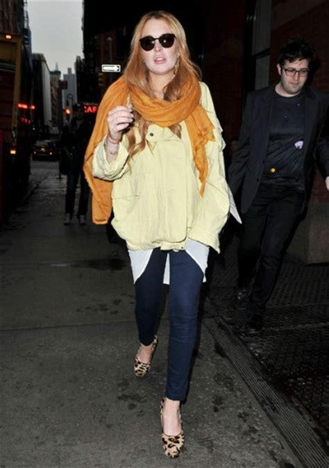 Lindsay Lohan Really Pashminas by Lindsay Lohan Fashion Galleries Telegraph