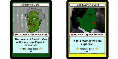 Trade Bitcoin For Gift Card - rare pepe gets blockchained made into tradable counterparty tokens
