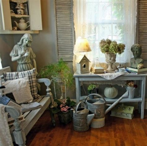 vintage style wooden garden bench with fashioned armrest cozy garden bench ideas for vintage fresh garden room shabby elegance and natural beautiful ambience