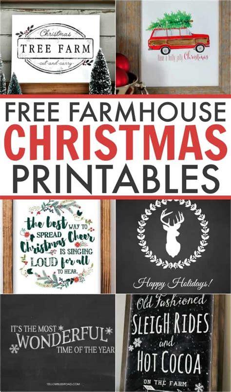 farmhouse decor printables free farmhouse printables
