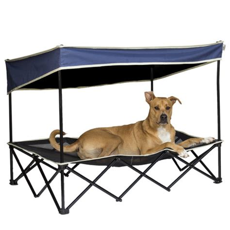 outdoor dog bed with canopy dog canopy bed portable outdoor pet tent house puppy