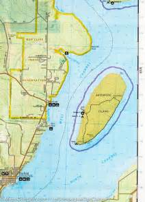 Lake Point Desk Trail Map Of Apostle Islands National Lakeshore Wisconsin