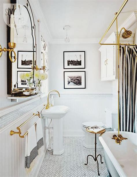 brass bathtub the peak of tr 232 s chic needing wanting loving a brass bathroom